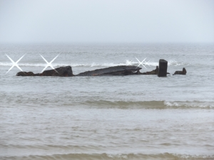 Wreck of the Frances - sunk in December 1872